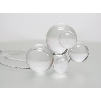 26 glass bubbles necklace ii